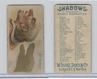 N87 Duke Cigarettes, Shadows, 1889, Alligator (B)
