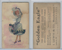 T65 Golden Eagle, Girls & Men In Costume, 1906, The Queen of the Ball