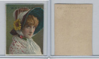 1890 W.S. Kimball Cigarettes, Actresses, Tobacco Card (D), PHX