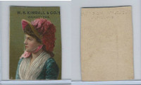 1890 W.S. Kimball Cigarettes, Actresses, Tobacco Card (I), PHX