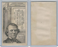 H602 Union Card Company, Presidents, 1890's, Andrew Johnson