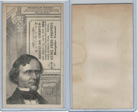 H602 Union Card Company, Presidents, 1890's, Franklin Pierce