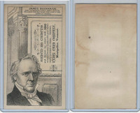 H602 Union Card Company, Presidents, 1890's, James Buchanan