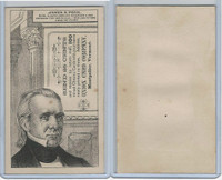 H602 Union Card Company, Presidents, 1890's, James K. Polk