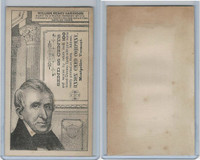 H602 Union Card Company, Presidents, 1890's, William Henry Harrison
