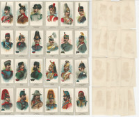 1900's (?) Print of E1 Caramel Army Cards, Perhaps Cut From Album , PHX