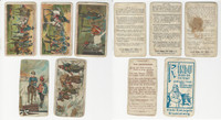 1890 German Trade Cards, Sohne, Rindu, Stollwerck, Lot of 5, PHX