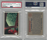 1951 Bowman, Jets, Rockets, Spacemen, #13 Approaching Moon, PSA 6 EXMT