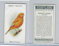 P72-66 Player, Aviary & Cage Birds, 1933, #1 Norwich Canary