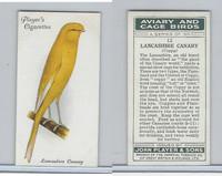 P72-66 Player, Aviary & Cage Birds, 1933, #12 Lancashire Canary