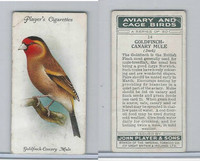P72-66 Player, Aviary & Cage Birds, 1933, #14 Goldfinch Canary Mule