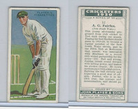P72-81 Player, Cricketers 1930, #12 AG Fairfax, New South Wales