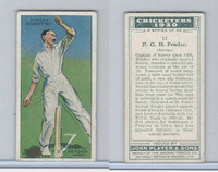 P72-81 Player, Cricketers 1930, #13 PGH Fender, Surrey