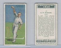 P72-81 Player, Cricketers 1930, #14 AP Freeman, Kent