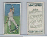 P72-81 Player, Cricketers 1930, #15 G Geary, Leicestershire