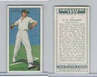 P72-81 Player, Cricketers 1930, #18 CV Grimmett, South Australia