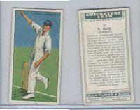 P72-81 Player, Cricketers 1930, #19 N Haig, Middlessex