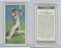 P72-81 Player, Cricketers 1930, #21 WR Hammond, Gloucestershire