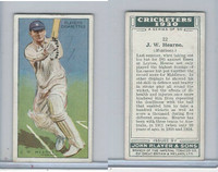 P72-81 Player, Cricketers 1930, #22 JW Hearne, Middlessex