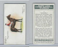 P72-88 Player, Derby & Grand Winners, 1933, #2 Minoru, H. Jones, Horse