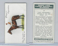 P72-88 Player, Derby & Grand Winners, 1933, #10 Gay Crusader, Donoghue, Horse