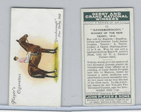 P72-88 Player, Derby & Grand Winners, 1933, #11 Gainsborough, J Childs, Horse