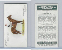 P72-88 Player, Derby & Grand Winners, 1933, #19 Coronach, J. Childs, Horse