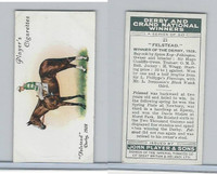 P72-88 Player, Derby & Grand Winners, 1933, #21 Felstead, W. Wragg, Horse