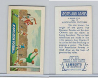 L0-0 Lamberts Tea, Sports and Games, 1964, #17 Association Football, Soccer
