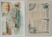A22 Allen & Ginter, Our Navy, 1890, Ships, Charleston & Portsmouth