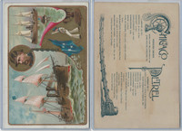 A22 Allen & Ginter, Our Navy, 1890, Ships, Chicago & Petrel, Admiral Porter