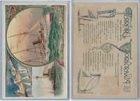 A22 Allen & Ginter, Our Navy, 1890, Ships, Terror & Yorktown