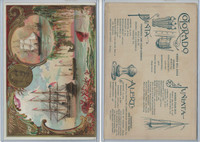 A22 Allen & Ginter, Our Navy, 1890, Ships, Colorado & Juniata