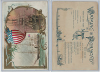 A22 Allen & Ginter, Our Navy, 1890, Ships, Wyoming & Richmond