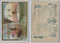 A22 Allen & Ginter, Our Navy, 1890, Ships, Atlanta & Texas