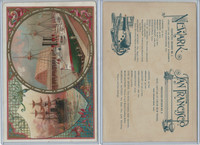 A22 Allen & Ginter, Our Navy, 1890, Ships, Newark & San Francisco