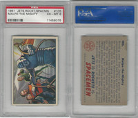 1951 Bowman, Jets, Rockets, Spacemen, #105 Malpo The Mighty, PSA 6 EXMT