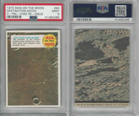 1970 O-Pee-Chee, Man On The Moon, Re -Issue, #60 Moon, PSA 9 Mint