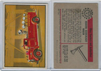 1953 Bowman, Firefighters, #18 Modern Searchlight Wagon
