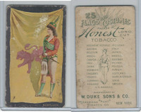 N109 Duke, Flags And Costumes, 1893, Scotland (B)