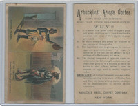 K9 Arbuckle Coffee, General Subjects, 1890, #17 Before/After, Black Americana