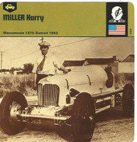 1978 Edito-Service, Automobile Rally Card, #01.03 Harry Miller