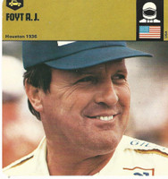 1978 Edito-Service, Automobile Rally Card, #01.05 AJ Foyt, Race Driver