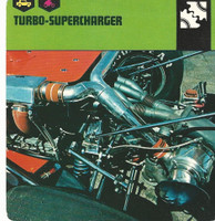 1978 Edito-Service, Automobile Rally Card, #01.12 Turbo-Supercharger