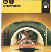 1978 Edito-Service, Automobile Rally Card, #01.14 Aerodynamics
