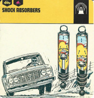 1978 Edito-Service, Automobile Rally Card, #01.15 Shock Absorbers