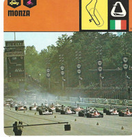 1978 Edito-Service, Automobile Rally Card, #01.19 Monza Grand Prix Race