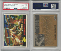 1962 Bubbles Inc., Mars Attacks, #22 Burning Cattle, PSA 8 OC NMMT