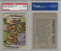 1953 Bowman, Frontier Days, #109 Angry Squaw, PSA 5 EX