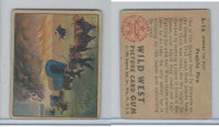 1949 Bowman, Wild West, #A-16 Prairie Fire (B)